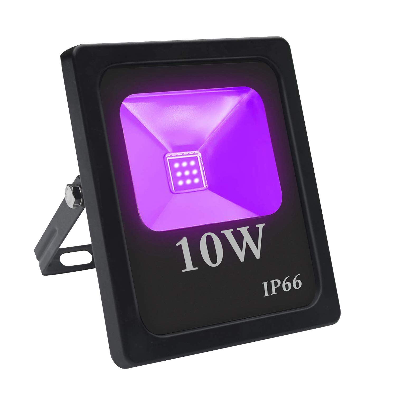 12V LED UV Black Light Strip Kit Neon Glow Gaffer Tape for Party Stage Lighting