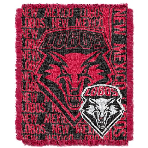 - The Northwest Company Officially Licensed NCAA New Mexico Lobos Double Play Jacquard Throw Blanket, 48
