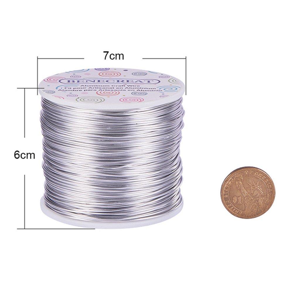 Amazon.com: BENECREAT 12 17 18 Guage 100FT Aluminum Wire Anodized ...