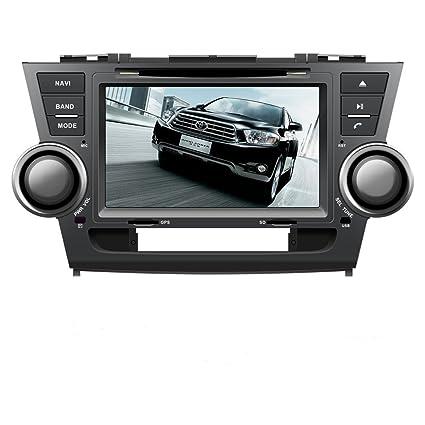 Amazon com: 8 Inch Touchscreen Monitor Car GPS Navigation