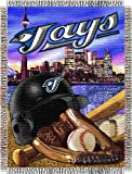 MLB Toronto Blue Jays Acrylic Tapestry Throw Blanket