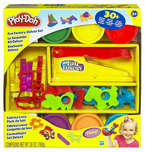 Play Doh Fun Factory Deluxe Accessories