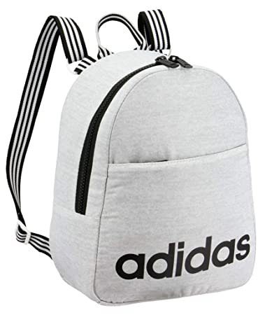 e13b04b66f adidas Core Mini Backpack, White Jersey/Black, One Size: Amazon.in: Bags,  Wallets & Luggage