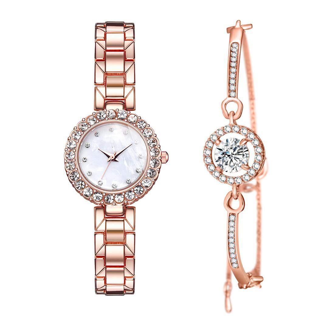 Ensemble montre à quartz et bracelet