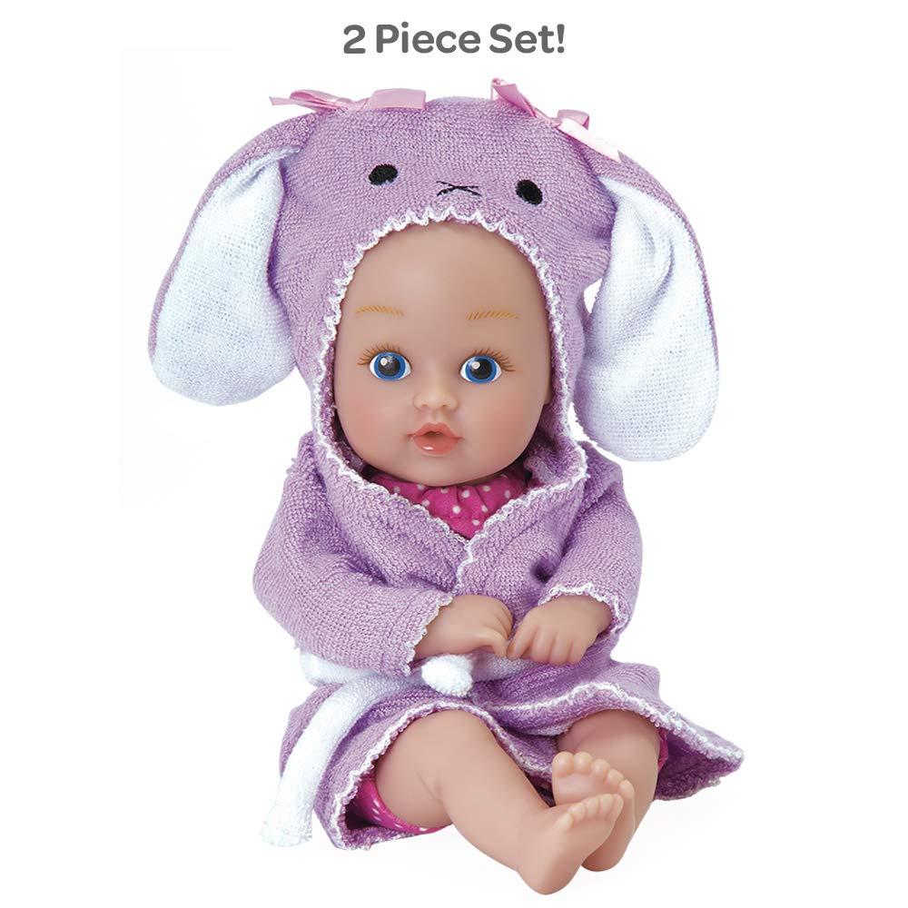 Amazon Adora Bathtime Baby Tot Bunny Small 85 Inch Washable