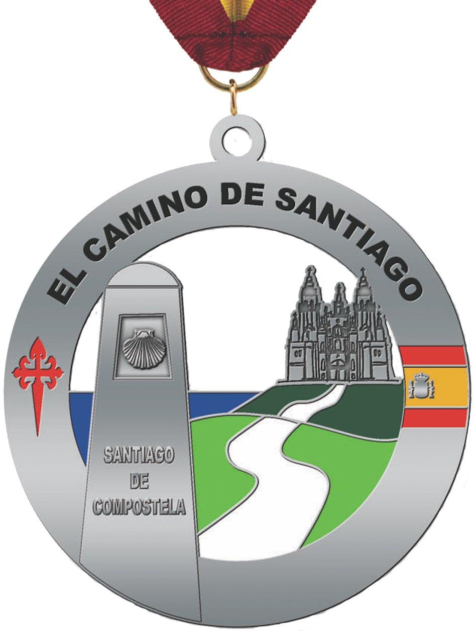El Camino de Santiago メダル B074T664T7
