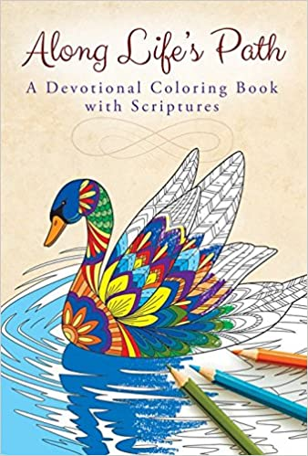 Amazon Along Lifes Path Devotional Coloring Book 9781593178789 Warner Press Books