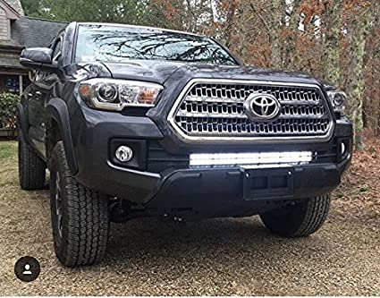 Amazon 2016 2017 toyota tacoma lower bumper light bar amazon 2016 2017 toyota tacoma lower bumper light bar brackets automotive mozeypictures Image collections