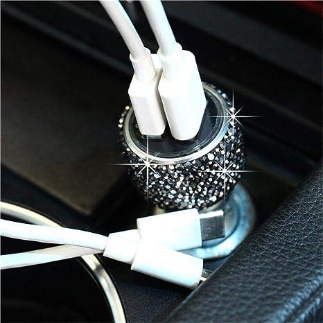 Amazon.com: Volwco - Cargador de coche USB doble para ...