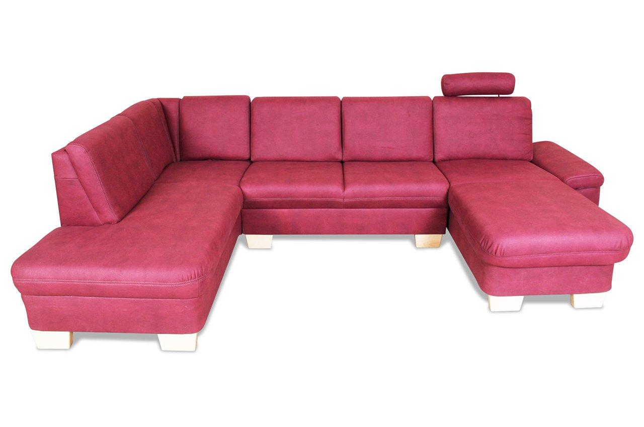 Sofa Ada Alina U Wohnlandschaft Links 7411 Luxus Microfaser