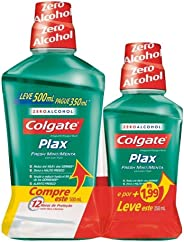 Enxaguante Bucal Colgate Plax Fresh Mint 500ml Promo Leve 500ml Pague 250ml
