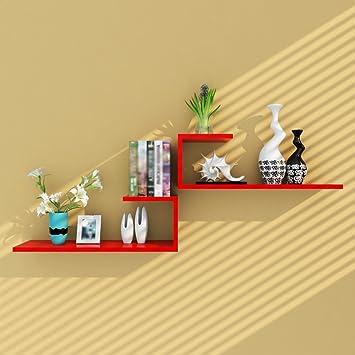 Amazon.com: Hyun times Shelf wall creative partition living room ...