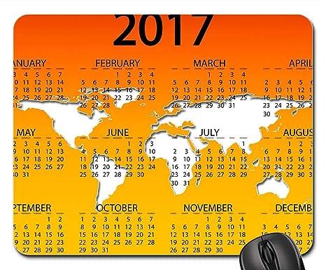 Amazon.com : Mouse Pads - Agenda Calendar Schedule Plan Year ...