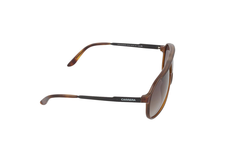 f2266e111a74 Amazon.com: Carrera New Champion Aviator Sunglasses, Havana Black & Brown  Gradient, 62 mm: Clothing
