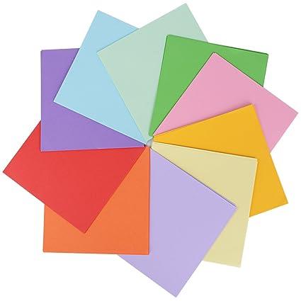 300pcs Origami Papel Papiroflexia Colores Manualidades Scrapbooking