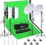 HPUSN Softbox Continuous Lighting Kit Professional Studio Photography with Max 8.5ft