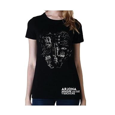 Ricardo Arjona Official Merch Womens T-Shirt GUITARRA EN MANO Camiseta de Mujer Colección Apague
