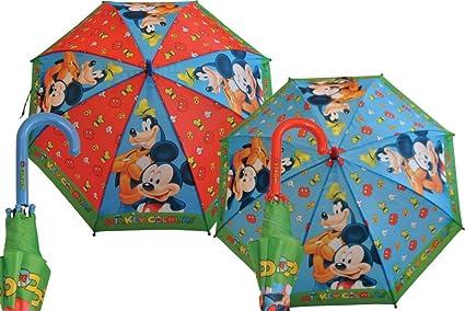 Paraguas Automático Mickey Mouse 5602: Amazon.es: Hogar