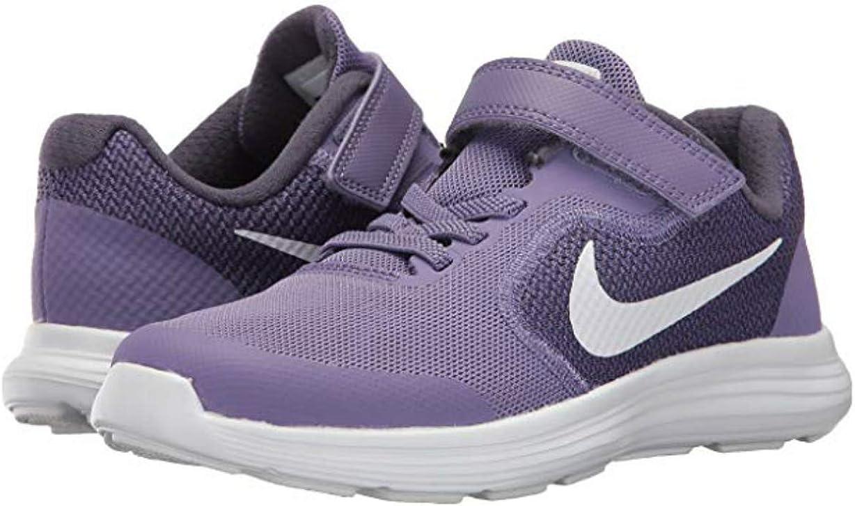 Nike Revolution 3 (PSV) Zapatillas de Correr para niños, Blanco (Lavanda), Medium: Amazon.es: Zapatos y complementos