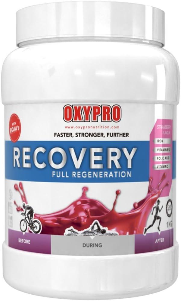 OXYPRO Recovery Drink Recuperador Muscular, Sabor Fresa ...