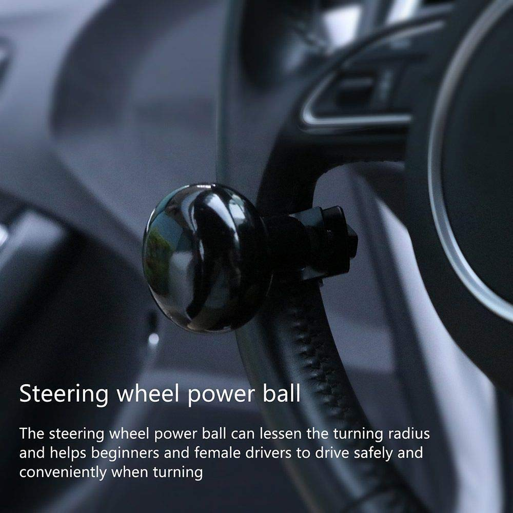 Vertex Steering Wheel Knob for Lorry Van// Buses// Light Truck Earthmovers Power ball