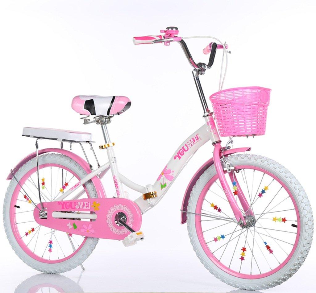 QFF スチール自転車、男の子、女の子自転車安全な子供時代の自転車5-18歳の赤ちゃん補助輪自転車115-128CM ZRJ (色 : D, サイズ さいず : 128CM) B07D37WH1S 128CM|D D 128CM