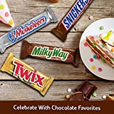 SNICKERS, TWIX, 3 MUSKETEERS & MILKY WAY Full Size