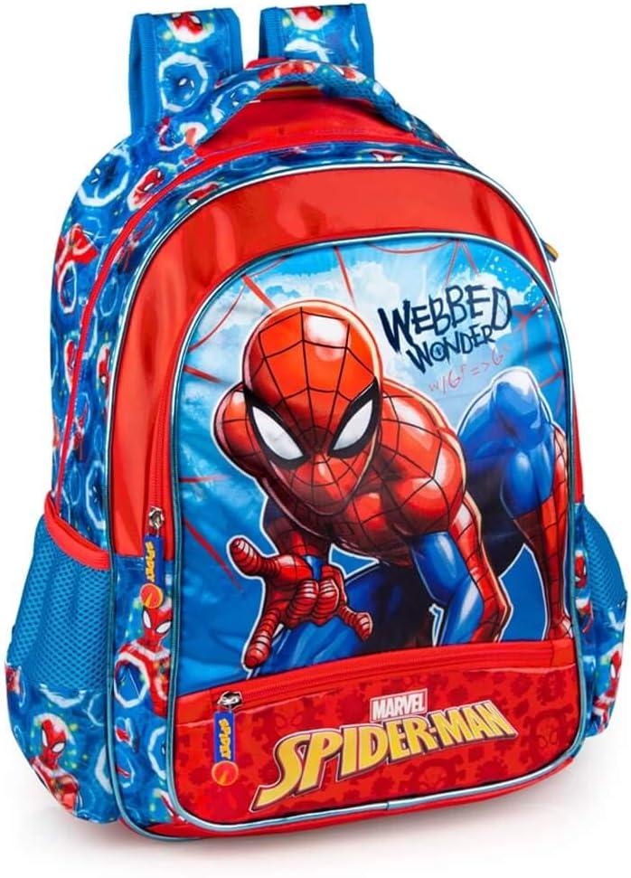 Marvel Spiderman Sac /à dos et trousse pour gar/çon Spiderman
