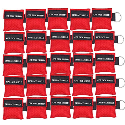 25pcs CPR Face Shield