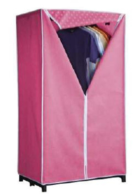 Ordinett Single Leinwand Kleiderschrank Pink Blau grün Leinwand ...