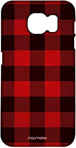 Macmerise Checkmate Red Pro Case For Samsung S7 Edge