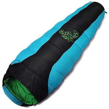 QFF-SD Saco de Dormir al Aire Libre 24 ° C Sobre/Rectangular Mini Mini Keep Warm Ultra Light Portátil: Amazon.es: Hogar