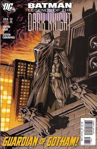 Batman Legends of the Dark Knight 206 (Guardian of Gotham) pdf epub