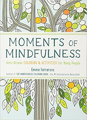 Moments Of Mindfulness Anti Stress Coloring Activities For Busy People Amazoncouk Emma Farrarons 9781615193493 Books