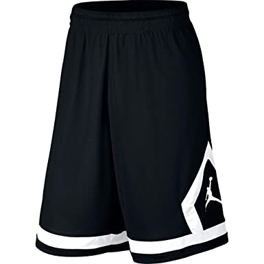 74ed39e3dbc04 Nike Boys Air Jordan Flight Diamond Basketball Shorts Red Black Black White  953296