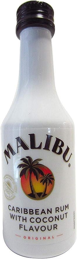 Rone - Malibu miniatura 50ml: Amazon.es: Alimentación y bebidas