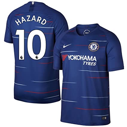 quality design 20794 d6f1c Nike Chelsea Home Hazard 10 Jersey 2018/2019 (Authentic EPL Printing)