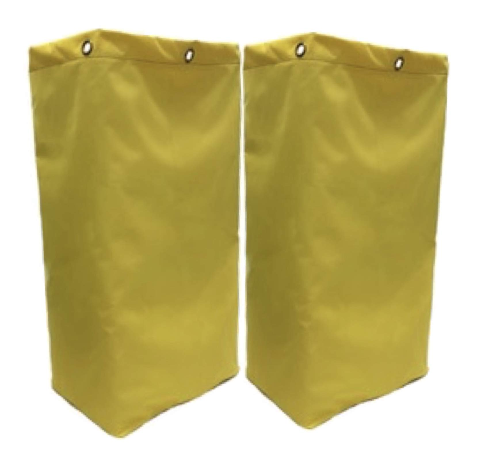 American Supply Replacement Janitorial Cart Bag 27'' (27 inches, Yellow, 2) by American 3D Supply