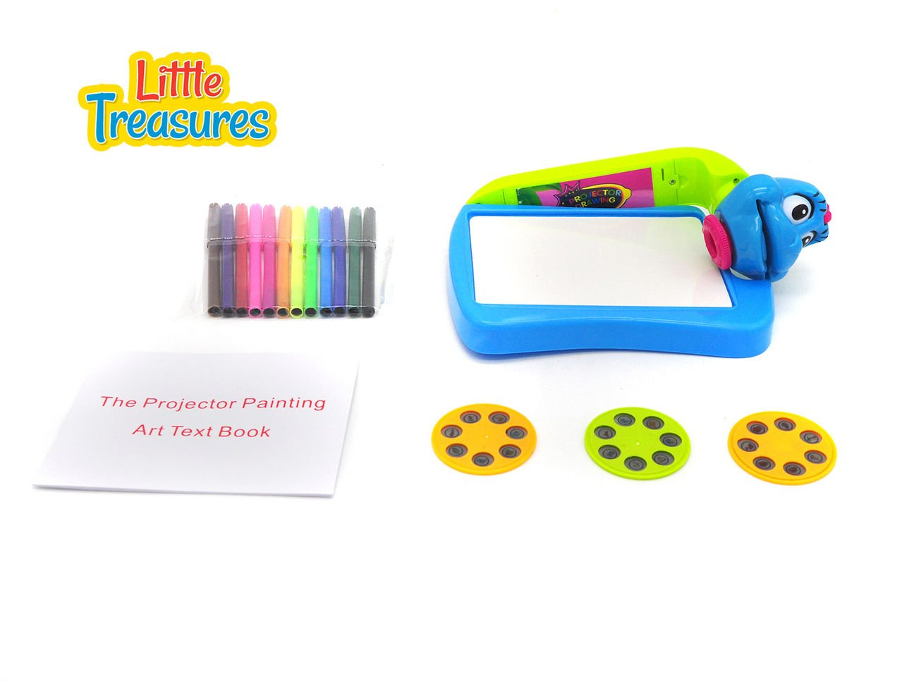 Amazon.com: Little Treasures Im an Artist Projector ...