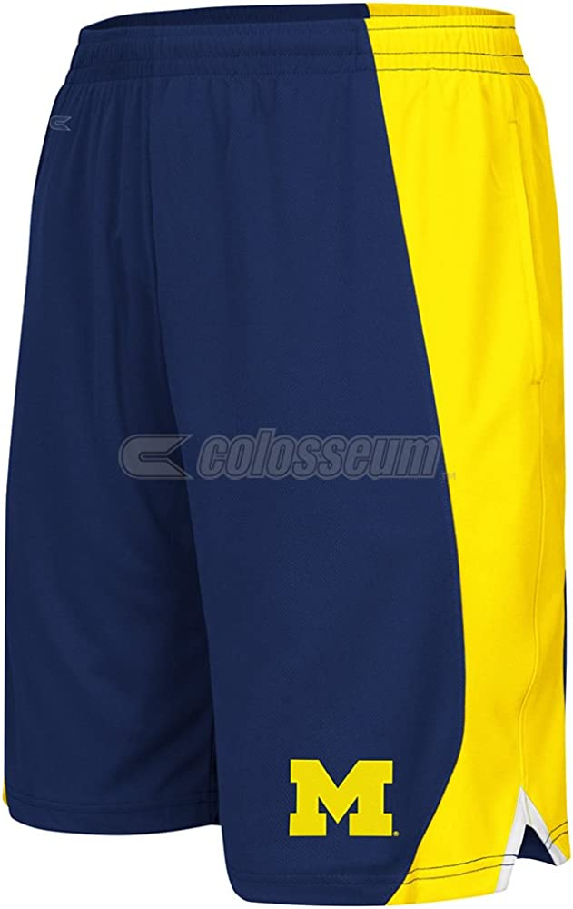 Colosseum Michigan Wolverines Youth NCAA Summertime Performance Training Shorts