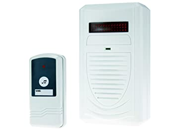 8aa72485c758 Elro DB290  Optical Sound Wireless Door Chime 75 m for  Amazon.co.uk ...