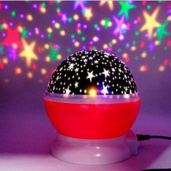 Luz Lampara Estrellas Cielo Estrellado LED Luz De Noche Proyector ...