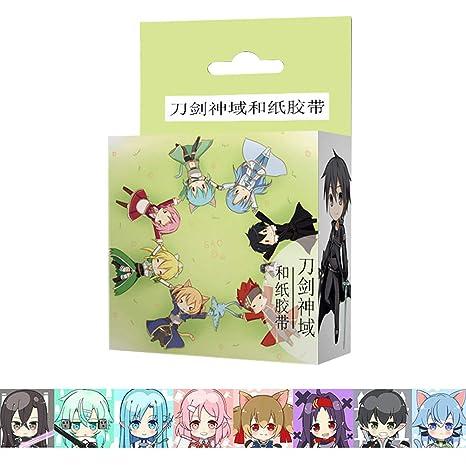 Amazon.com: Raleighsee Hatsune Miku - Cinta de papel y anime ...