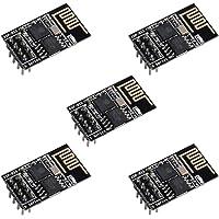 ESP8266 ESP-01S WiFi Serial Transceiver Module with 1MB Flash?DIP-8 3-6V?Pack of 5PCS