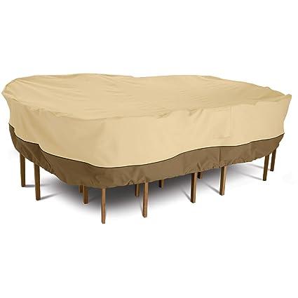 Veranda Rectangular/Oval Patio Table and Chair Cover