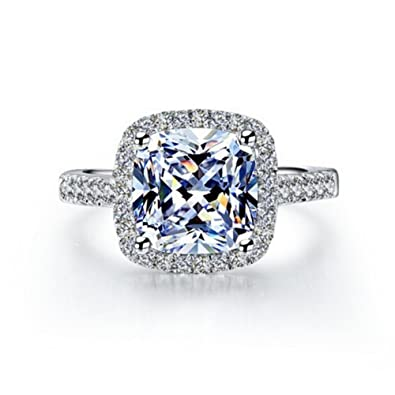 engagement cut for diamond jewellery women pin rings ebay pinterest cushion