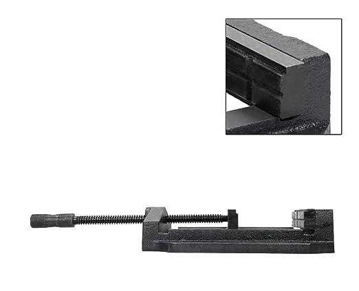 Optimum 027op0200/Maschinen-Schraubstock Backenbreite 200/mm Typ BSM 200/mit Prismen
