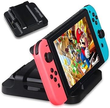 Invero - Estación de carga dual para consola Nintendo Switch ...