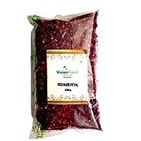 Vision Fresh Organic Dry Red Rose Petals 100 Gram