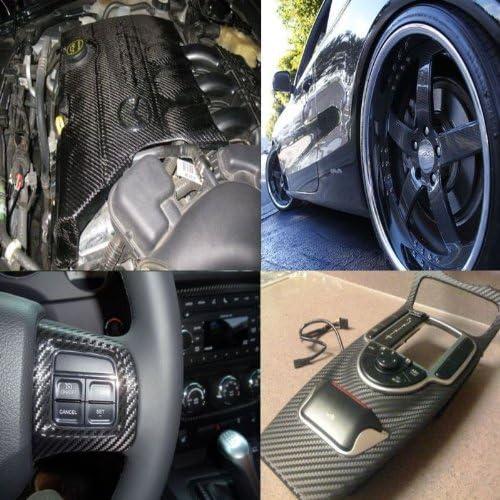 60 X 60 5FT X 5FT 2007 2008 2009 06 07 08 09 10 312 Motoring fits 2006-2010 BMW E63 E64 650I 650 I Carbon Fiber Vinyl WRAP Sheet//Film
